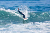 Surfing Encinitas - Pipes 13-Feb-16